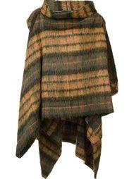 checked cape  Vivienne Westwood