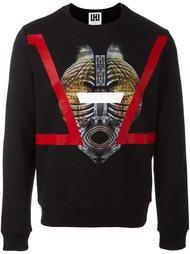 mask print sweatshirt Les Hommes Urban