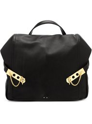 leather backpack  Anthony Vaccarello