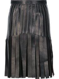strappy a-line skirt Mugler
