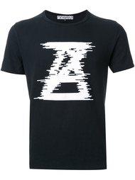 logo print T-shirt  Anrealage