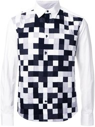 'Noise' patchwork shirt  Anrealage