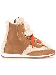 ботинки из овчины Vivienne Westwood