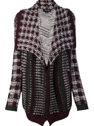 multi knit cardi-coat Yigal Azrouel
