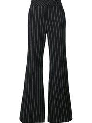 pinstripe flared trousers  Rachel Zoe