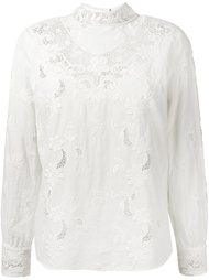lace blouse Sea
