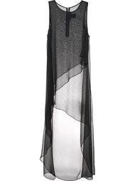 шелковое платье 'Stud'  Thomas Wylde