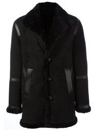 кожаное пальто Neil Barrett
