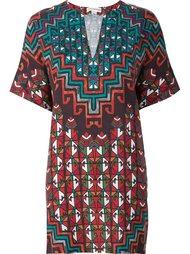 printed short dress Mara Hoffman