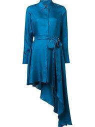 шелковое платье 'Purple Haze' Thomas Wylde