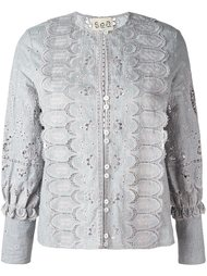 broderie anglaise blouse Sea