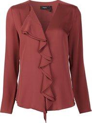 ruffled blouse  Theory