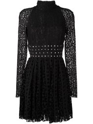 lace flared mini dress Giamba