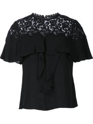 embroidered T-shirt  Rebecca Taylor