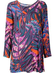 printed shift dress Mara Hoffman