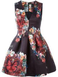 платье с принтом бабочек Philipp Plein