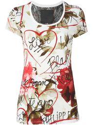 футболка с принтом 'Black and White'  Philipp Plein