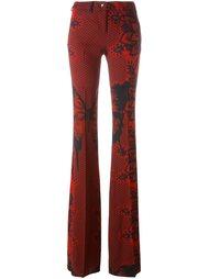 расклешенные брюки Philipp Plein