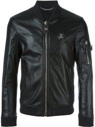 куртка-бомбер  на молнии Philipp Plein