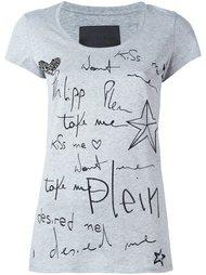 футболка 'Kiss Me'  Philipp Plein