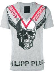 футболка 'Triangles'  Philipp Plein