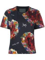 футболка 'Attributes' Philipp Plein