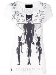 футболка с принтом 'Catwoman' Philipp Plein
