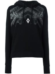 tiger print hoodie Marcelo Burlon County Of Milan