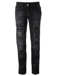 distressed boyfriend jeans Philipp Plein