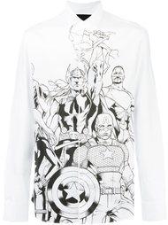 рубашка 'The Avengers' Philipp Plein