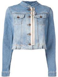 джинсовая куртка на молнии Off-White