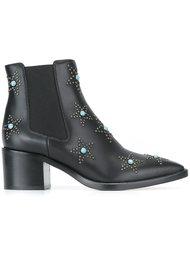 ботинки 'Starstudded Beatle'  Valentino
