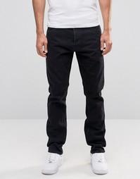 Черные прямые джинсы Weekday Common - Черный
