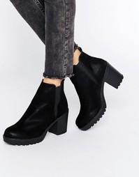 Ботинки челси на каблуке Blink - Черный