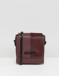 Kendall + Kylie Violet Leather Cross Body Bag - Красный