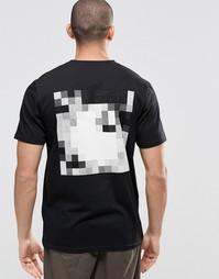 Футболка с принтом сзади Carhartt WIP Pixel - Черный