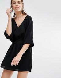 Платье мини Ba&sh Zima - Черный Ba&Sh