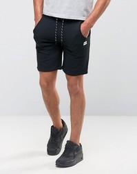 Трикотажные шорты со шнурком Jack and Jones - Черный