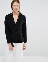 Короткое кимоно Just Female Brazil - Черный