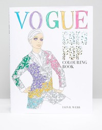 Раскраска Vogue Goes Pop Colouring Book - Мульти Books