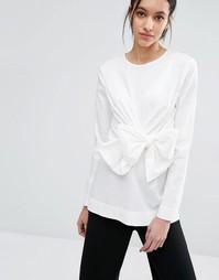 Блузка с завязкой Just Female Sunday - Белый