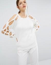 Трикотажный свитер Asilio Cease Fire - Белый