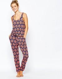 Комбинезон с мозаичным принтом Chelsea Peers - Мульти