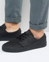 Черные кроссовки Nike SB Zoom Stefan Janoski 616490-007 - Черный