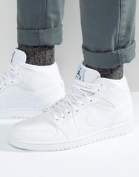 Белые кроссовки Nike Jordan Air Jordan 1 554724-110 - Белый