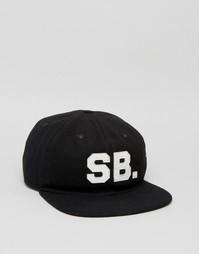 Черная кепка Nike SB Infield Pro 806050-010 - Черный