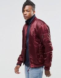 Куртка-пилот adidas Originals Superstar MA1 AY9149 - Красный