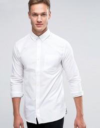 Оксфордская рубашка с длинными рукавами Jack & Jones Premium - Белый