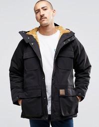 Куртка с подкладкой из искусственного меха Carhartt WIP Mentley - Черный