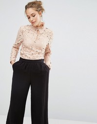 Кружевная блузка Baum Und Pferdgarten Marvella - Розовый